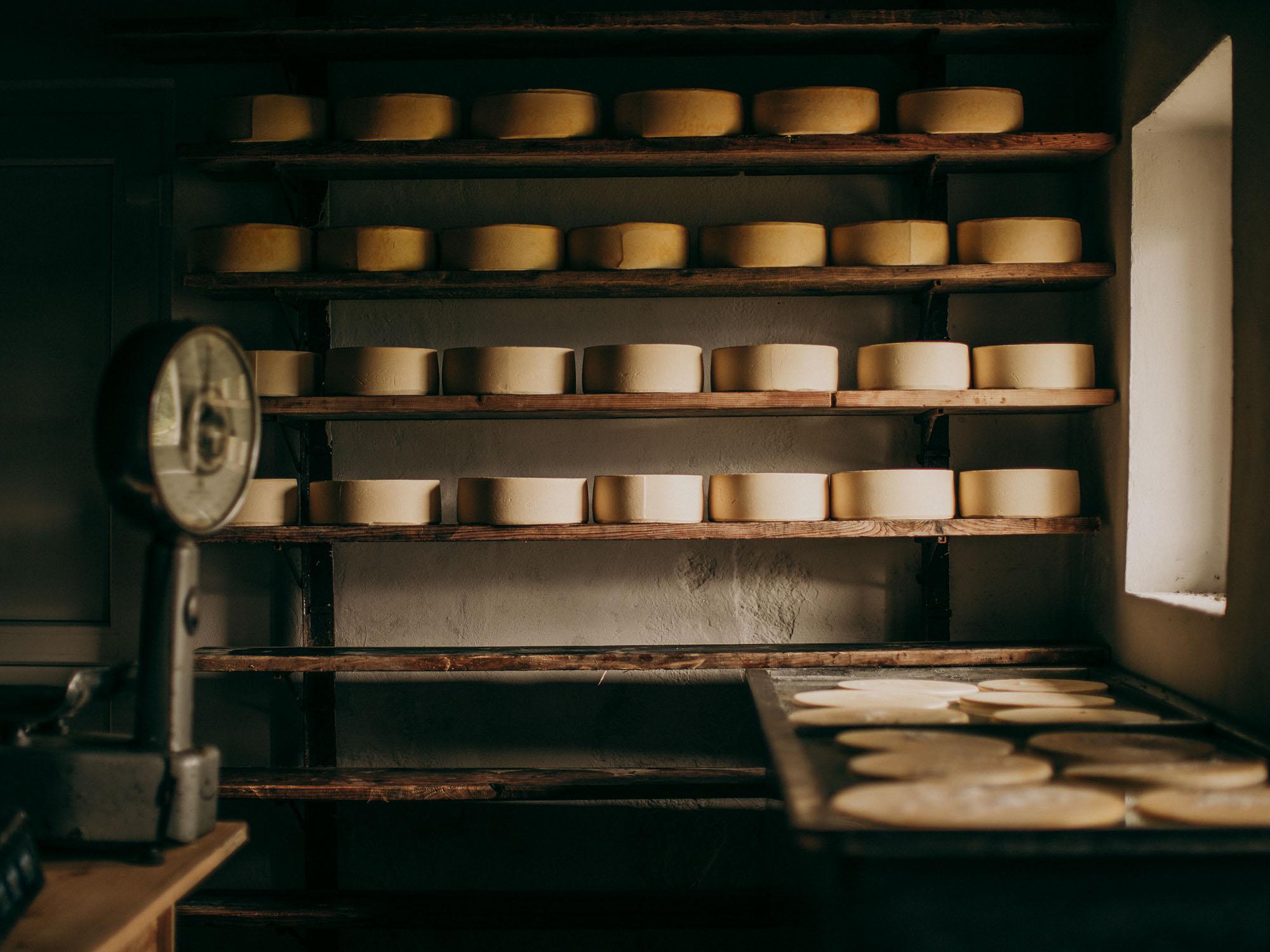 Staranje sira