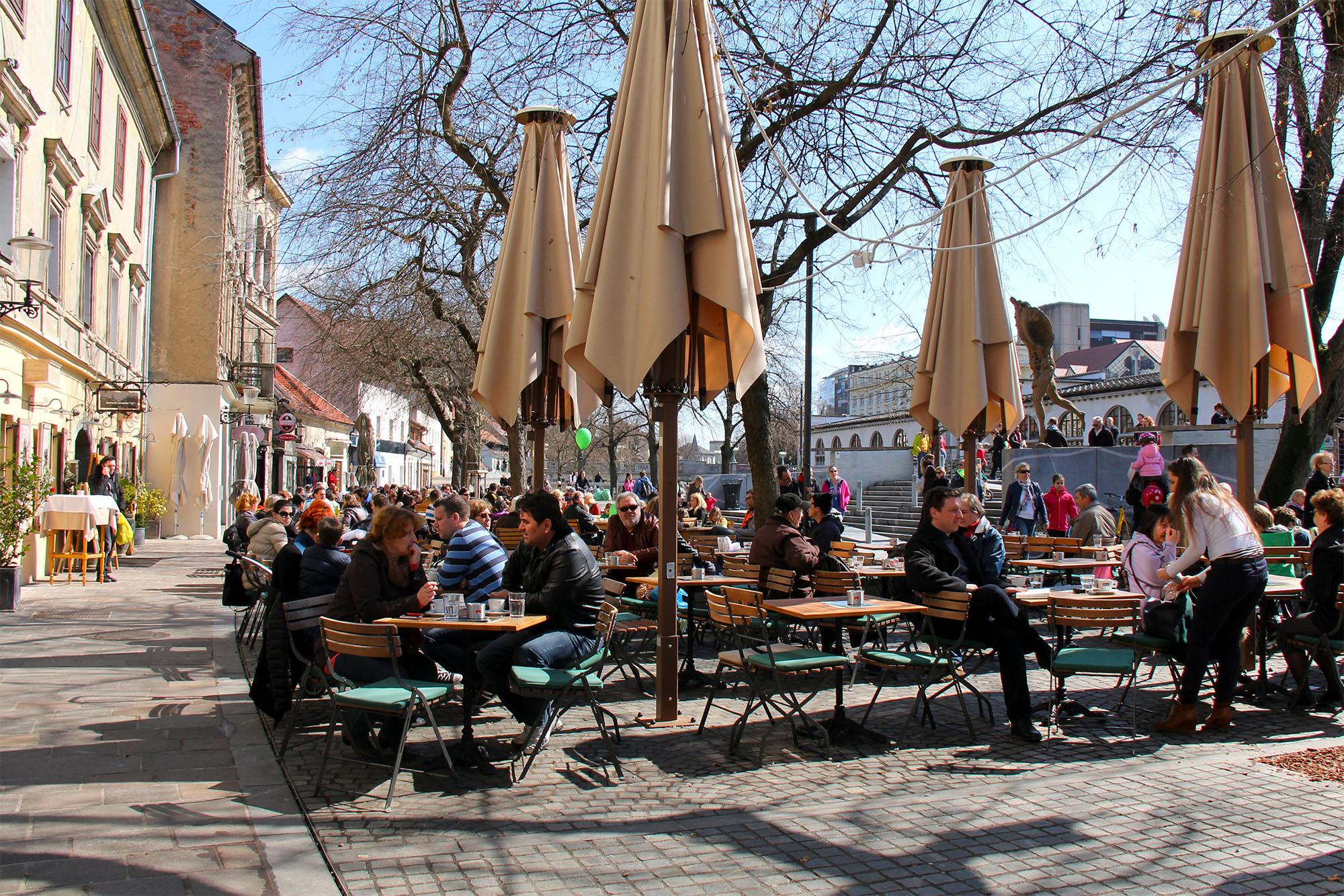 Kavarne v Ljubljani