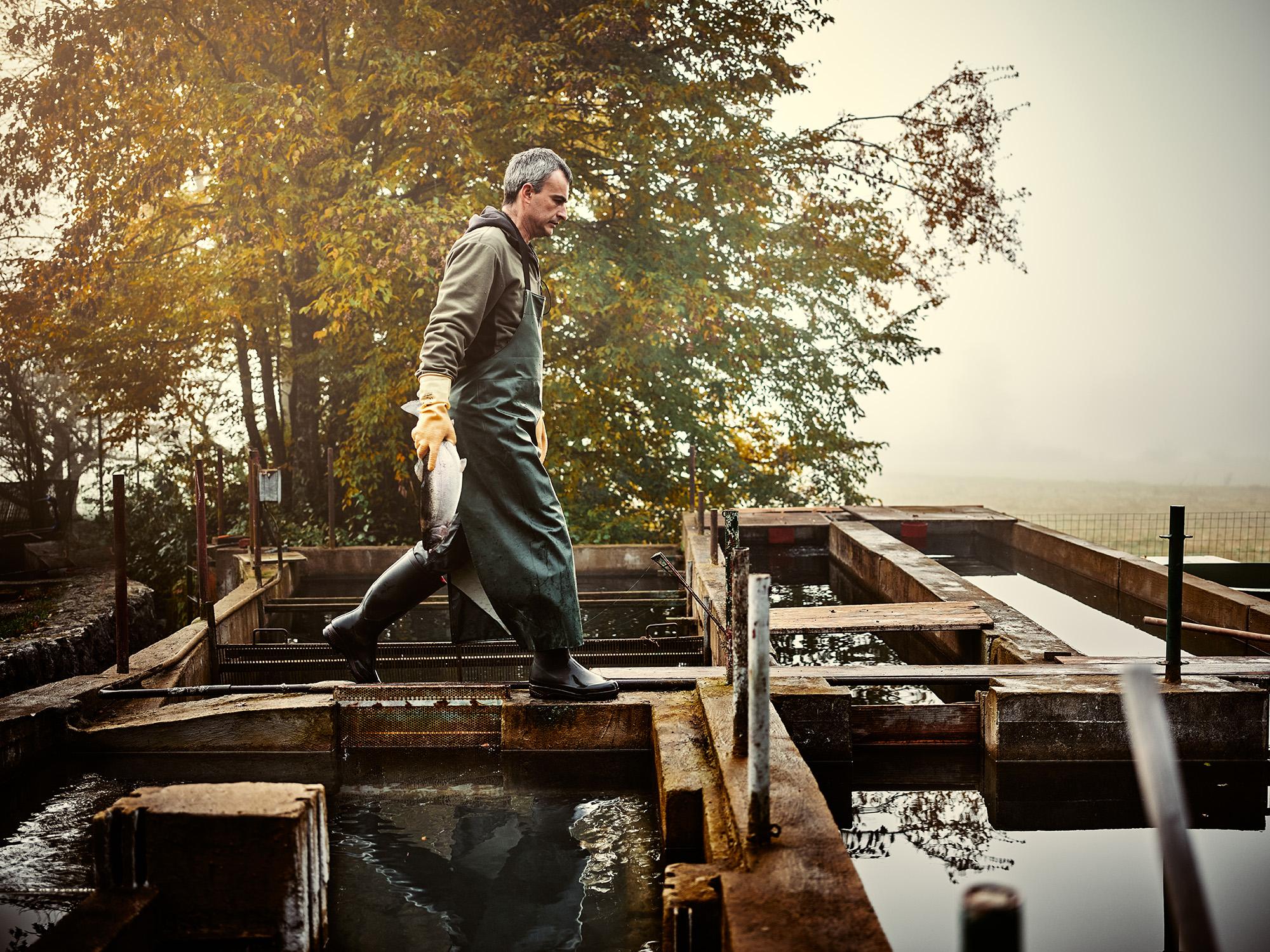 ribogojec Mitja Zupan