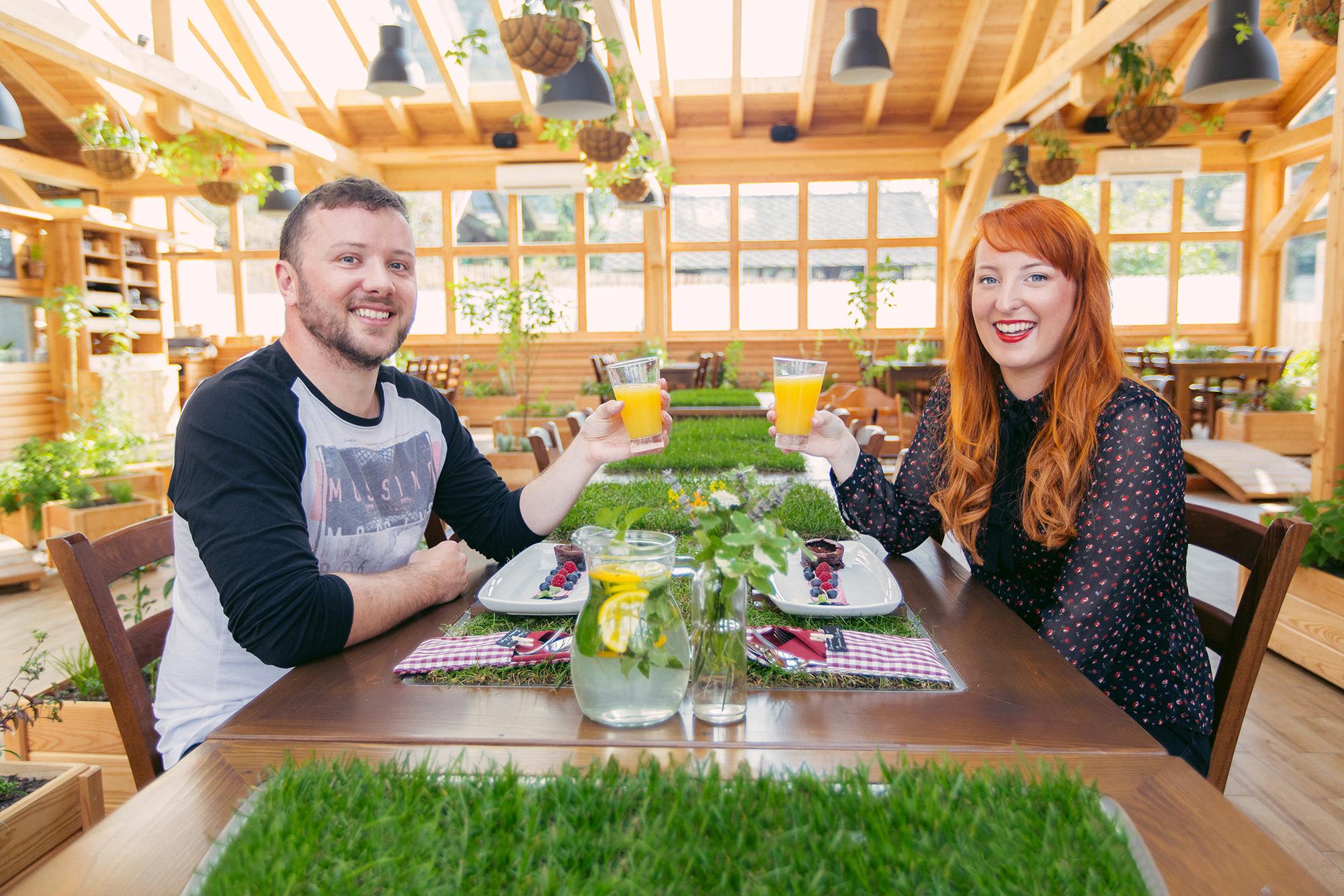 Garden village Bled cuisine