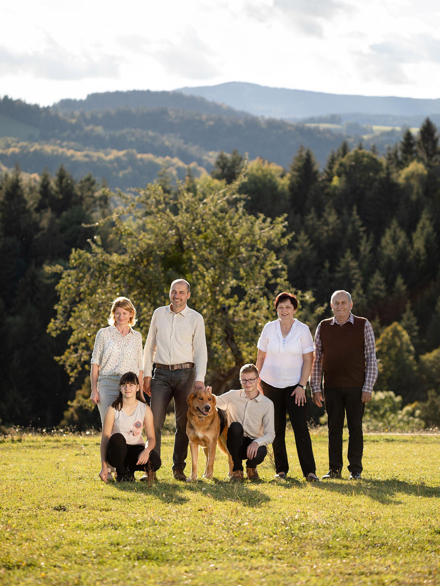 eko turistična kmetija Pri Baronu - družina Uranjek