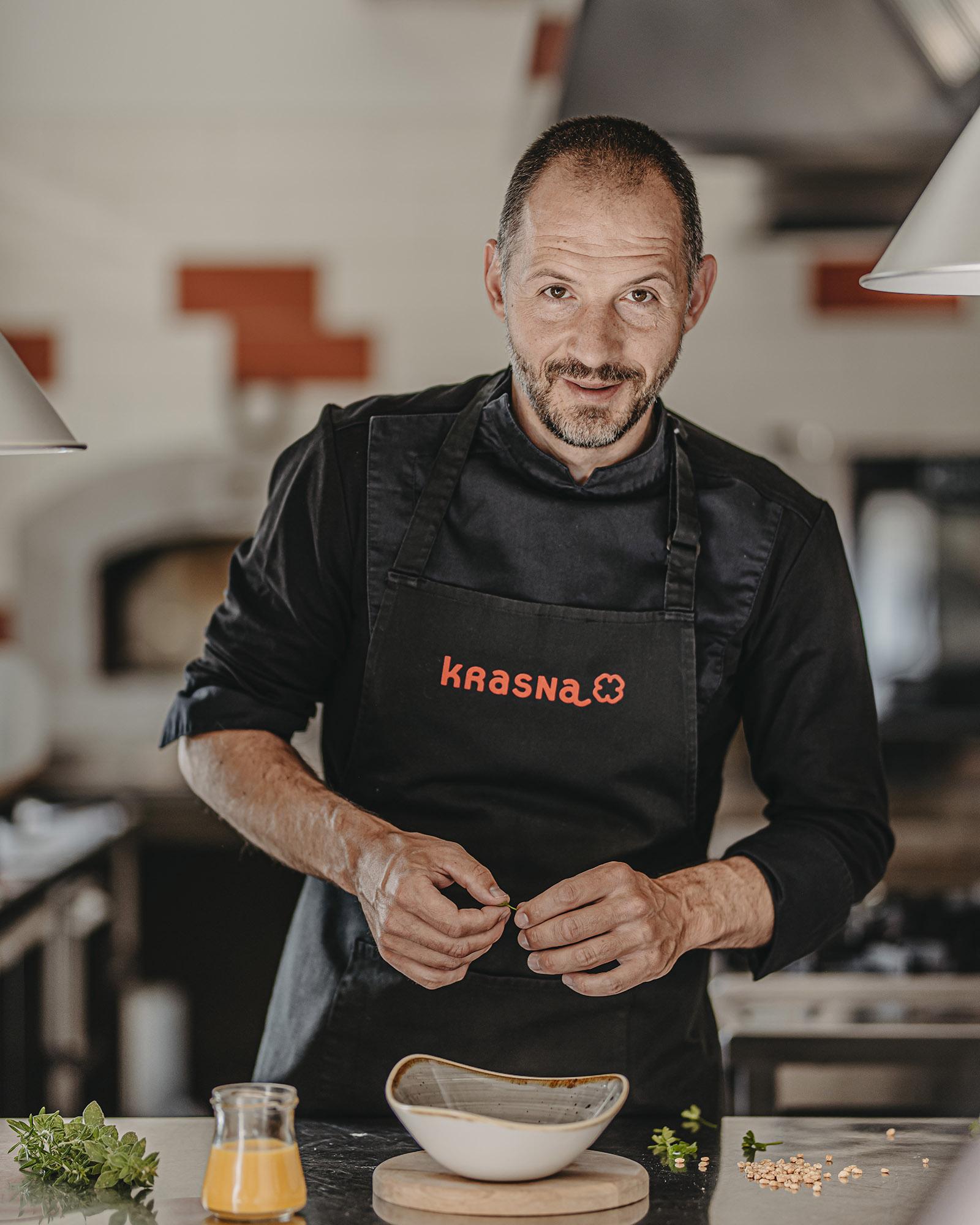 Chef Aleš Širca