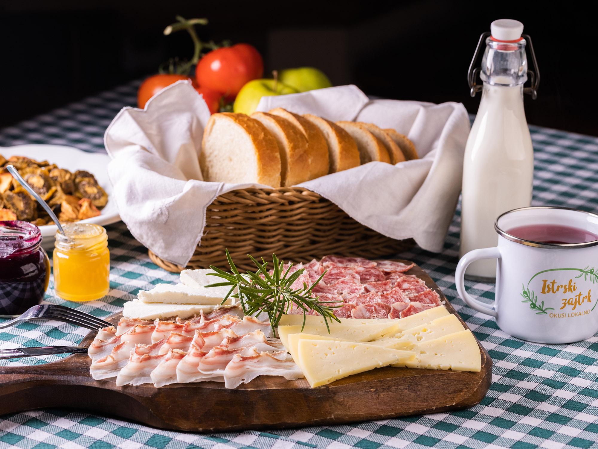 Istrian breakfast